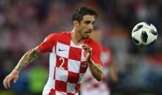 اصابة مبكرة لظهير كرواتيا فيرساليكو