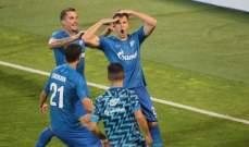 تصفيات الدوري الأوروبي: زينيت يعود من بعيد وفوز للودوغوريتس