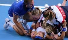 اصابة غريبة لقائد المنتخب الفرنسي للسيدات