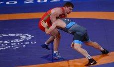 طوكيو 2020: ذهبية المصارعة تحت 97 كلغ للروسي يفلوييف