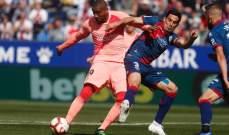 الليغا: هويسكا يفاجئ برشلونة ويقوده الى تعادل مرير ومحبط