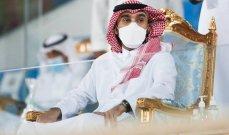 وزير الرياضة السعودي يؤكد ثقته بلاعبي المنتخب الأولمبي