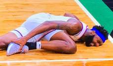 لاعب نيكس ميتشل روبنسون يكسر قدمه