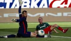 لوكوموتيف موسكو يحقق فوزه الاول في الدوري الروسي