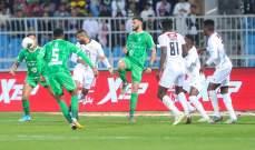 الدوري السعودي: الأهلي يسقط امام الشباب وفوز الإتفاق على التعاون