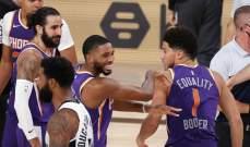 فينيكس بدون هزيمة داخل فقاعة NBA