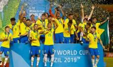 موجز الصباح: فرنسا تتاهل لليورو متصدرة، البرازيل بطلة العالم للناشئين، الارجنتين تواجه الاوروغواي وتسيتسيباس يحرز لقب البطولة الختامية