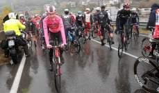 سباق إيطاليا: لقب المرحلة 19 للتشيكي تشيرني