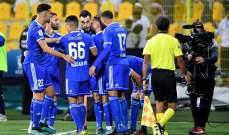 النصر بطلا لكأس الخليج الاماراتي بفوزه على شباب الأهلي دبي
