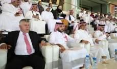 ابرز الحضور في مباراة السعودية والعراق