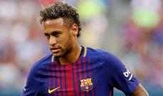 نيمار ينهي خلافه القضائي مع برشلونة