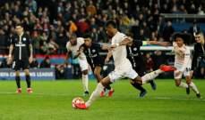 تقييم اداء لاعبي مباراة باريس سان جيرمان ومانشستر يونايتد