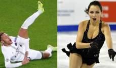 متزلجة روسية تسخر من نيمار!