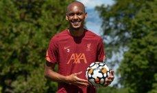 فابينيو: ما أردته دائماً هو الاستمرار في اللعب مع ليفربول