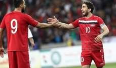 تعديل في البرنامج التحضيري لمنتخب سوريا قبل كأس اسيا