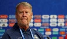 مدرب الدنمارك: سنحاول اعادة كتابة التاريخ أمام كرواتيا