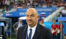 مدرب منتخب روسيا يحذر من قوة منتخب بلجيكا رغم الغيابات
