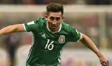 أندية الدوري الإيطالي مهتمة بالمكسيكي هكتور هيريرا