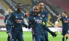 الدوري الاوروبي: اليونايتد يضرب موعداً مع روما وارسنال امام فياريال في نصف النهائي
