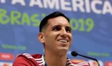 غاتيتو فرنانديز رجل مباراة باراغواي - قطر