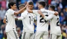 ريال مدريد احتاج ل 30 دقيقة لفك شيفرة دفاعات مليلة والحصيلة 6 اهداف