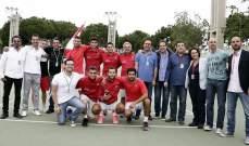 كأس ديفيس : لبنان يواجه اوزباكستان في ايلول ضمن المجموعة الأولى
