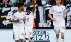 دوري الدرجة الأولى الفرنسي : بوردو يحسم معركة القاع لصالحه