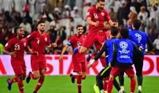 فيديو: الاحتفالات تعم غرفة ملابس لاعبي قطر