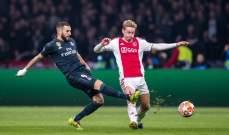 الحكم يلغي هدفا لاياكس في مرمى ريال مدريد بداعي التسلل