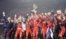 تورونتو يحرز لقب الدوري الأميركي لأول مرة