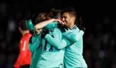 ريال مدريد يغلب سالامانكا ويرافق فالنسيا وفياريال إلى الدور المقبل