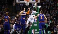 NBA: كليفلاند يثبت موقعه كثالث المجموعة الشرقية وبوسطن يتخطى النيكس