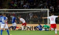 ايطاليا تنجو من الهزيمة امام بولندا في اول امتحان رسمي لمانشيني وفوز روسيا