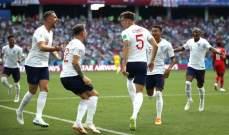 أرقام تاريخية شهدها الشوط الأول من مباراة إنكلترا وبنما