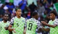 مصر تستقبل هدفا امام نيجيريا بعد 7 ثوان