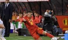 تورغان هازارد سعيد بخطوة اخيه وبالفوز الذي حققه المنتخب البلجيكي