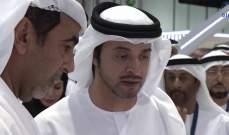 هزاع بن زايد يبارك تأهل الامارات الى ربع نهائي كأس آسيا