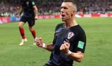 بيريسيش يتوج مجهوده بلقب الافضل في لقاء كرواتيا وانكلترا