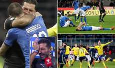 عام مرّ على أكبر خيبة أمل في تاريخ كرة القدم الإيطالية