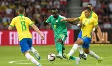 السنغال تخطف التعادل الودي من البرازيل