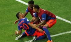اختيار روجير مارتينيز رجل مباراة كولومبيا - الأرجنتين