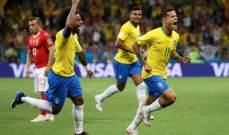 كوتينيو يتقدم للبرازيل 1 - 0 امام سويسرا