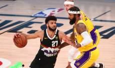 ارقام المباراة الرابعة من سلسلة نهائي المجموعة الغربية في NBA