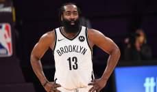 NBA: جايمس هاردن يقود نيتس للفوز على ليكرز