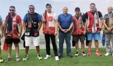 رماية: أكرم حماده بطل المرحلة السادسة من بطولة لبنان للتراب الفئة(أ) ممتاز