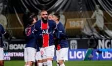 الدوري الفرنسي: باريس سان جيرمان الى الصدارة بعد تخطيه انجيه
