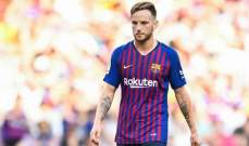 راكيتيتش يتحدث عن مستقبله مع برشلونة