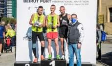 السباق العالمي لنصف الماراتون والماراتون لمرفأ بيروت: الألقاب لعواضة والجسر وحنا ونجيم