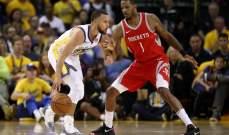 NBA PLAYOFFS: كوري يقود الواريرز للتقدم في سلسلة النهائي الغربي