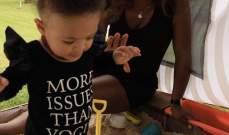 سيرينا ويليامز تحتفل مع طفلتها بوصول عدد متابعيها الى 10 مليون